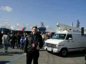 Allan Townsend field producing the return of the USS Lincoln