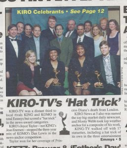 KIRO TV's Hat Trick